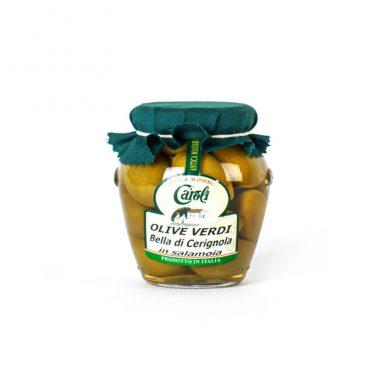 italiaanse olijven-bella di cerignola-caroli-puglia-grote olijven met pit