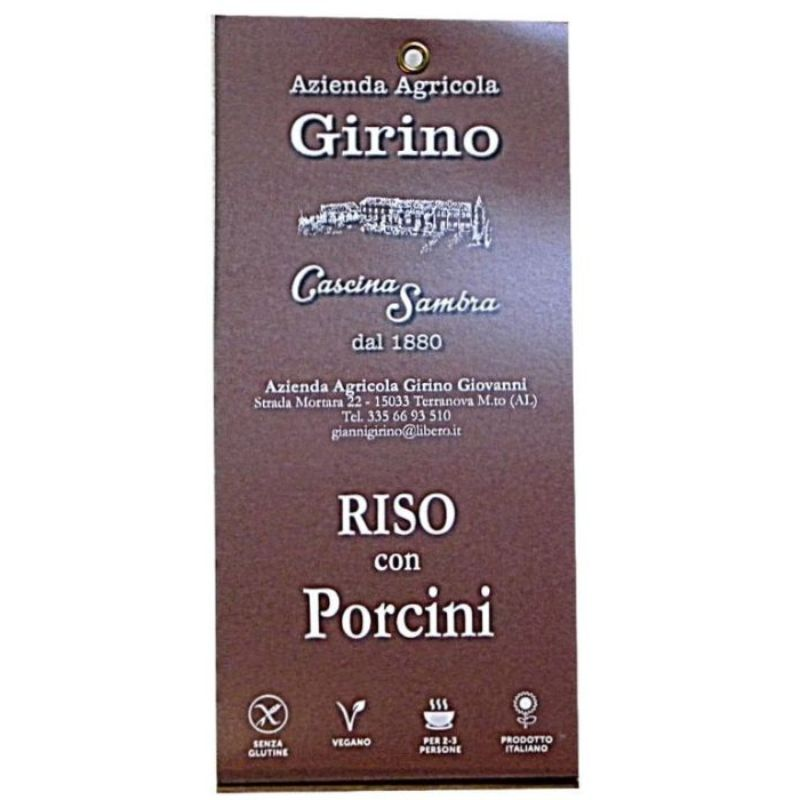 risotto-eekhoorntjesbrood-funghi porcini-girino-vercelli