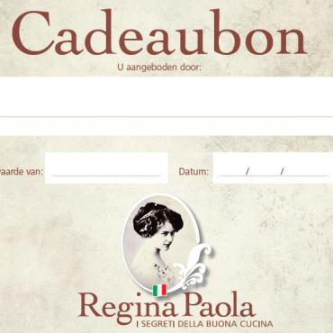 italiaanse geschenken-cadeaubon-geschenkbon-Regina Paola