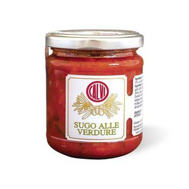 italiaanse sauzen-sugo alle verdure-olio calvi-ligure