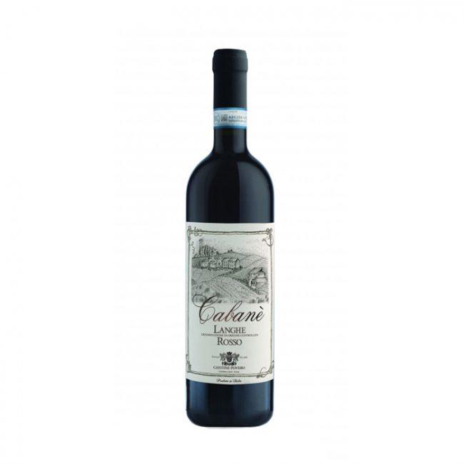 italiaanse rode wijn-cabane langhe rosso-cantine povero-piemonte