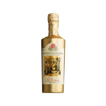 italiaanse olijfolie-mosto oro- olijfolie van taggiasche olijven - ligurië