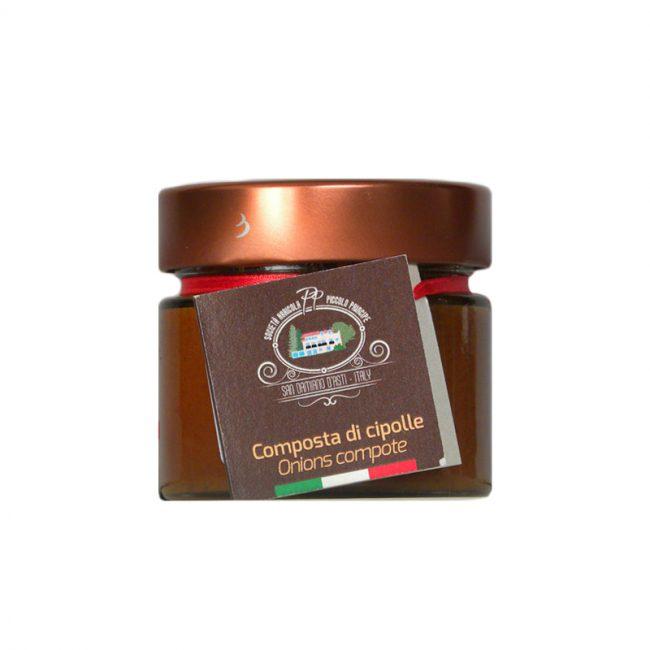 Italiaanse antipasti-crema-Bagnet Cipolla-Piccolo Principe -