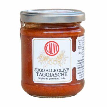 italiaanse sauzen-saus taggiasche olijven-sugo olive taggiasche-calvi-liguria
