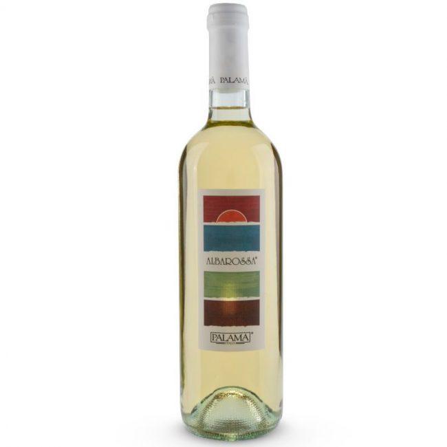 italiaanse witte wijn - albarosso bianco - palama - puglia - salento