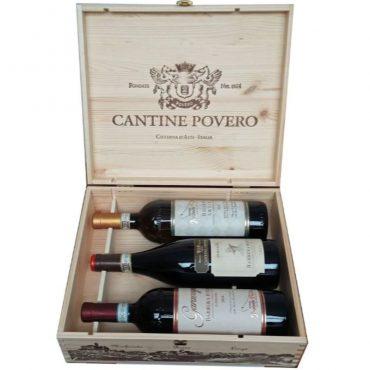 italiaanse wijnen - italiaanse geschenken -cantine povero - piemonte - roero arneis - marida - barbera d'alba