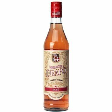 turin vermouth drapo rose